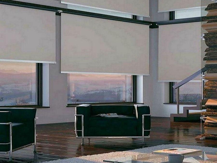 Tende Oscuranti Da Interno : Tende oscuranti a rullo per esterni da interni per finestre