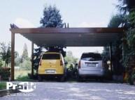 Coperture auto gazebo per auto cicogna leggero zincato per mod